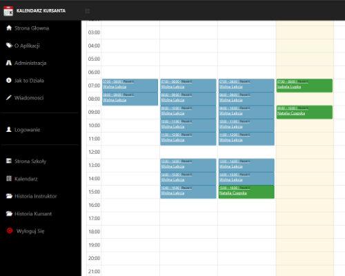 Kalendarz Kursanta